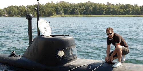 Foto: Ubåt - så maxar du din skärgårdkonferens.