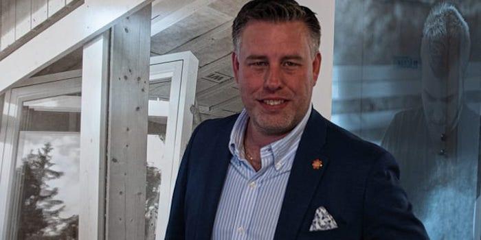mikael tykesson ny försäljnings och marknadschef på bygghandelskedjan woody bygghandel