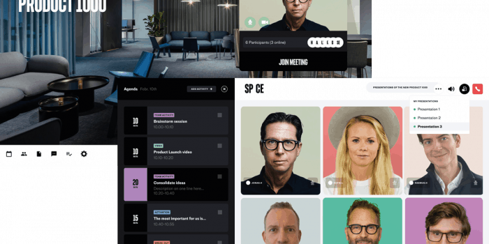 Skärmdump på det digitala säljverktyget SP_CE