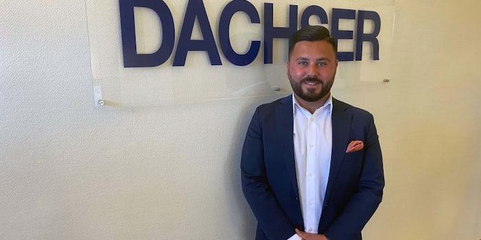 Martin Ishak, Sales Manager för Dachsers filial i Jönköping.