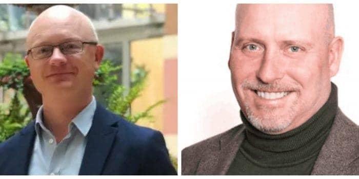 Mats Bäcklund, vd MeetApp & Tommy Brotte Interaktiva möten