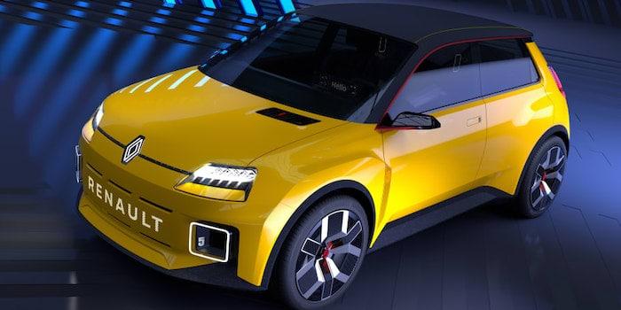 Nya Renault 5 - Prototype vinner designpris